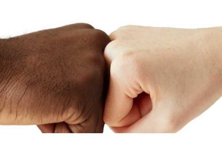Black Hand and White Hand