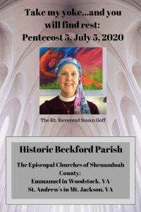 Sermon 7-5-20 Rt. Rev. Susan Goff