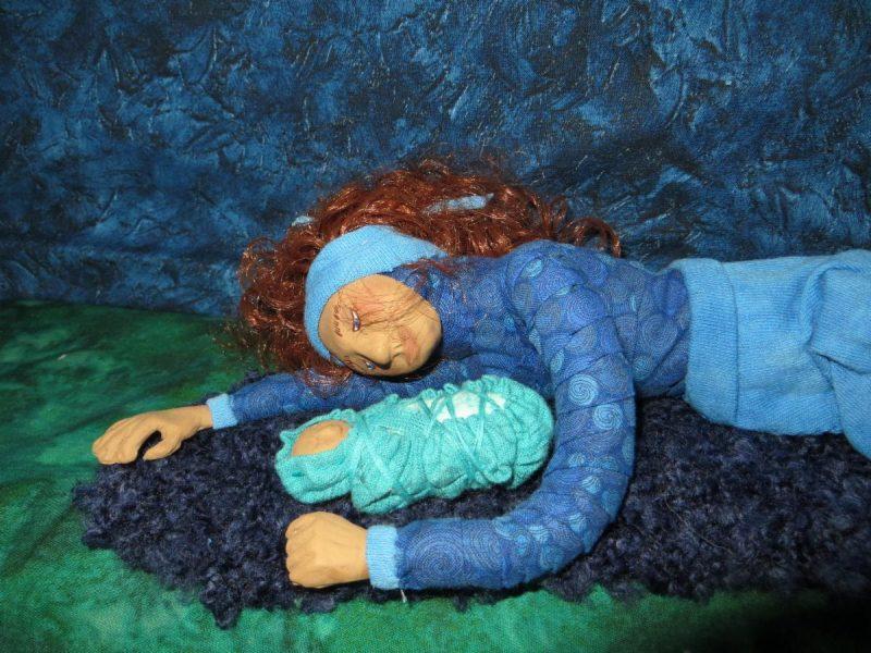 Fiber Sculpture Nativity by Bishop Susan Goff